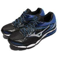 Mizuno Wave Ultima 8 Black Blue Grey Men Running Shoes Sneakers J1GC1609-07