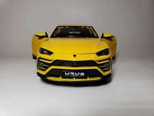 NEW Maisto 1/18 Diecast Model Lamborghini Urus (Yellow)