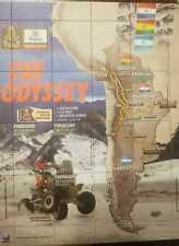 O) 2017 PARAGUAY, RUNNER NELSON SANABRIA -THE ODYSSEY- DAKAR -MOTORCYCLE YAMAHA