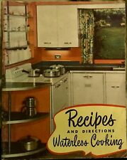 Buckeye Aluminum, Recipes and Directions Waterless Cooking 1949 Booklet Vintage