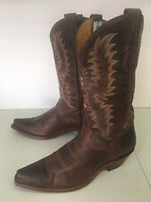 TONY LAMA WOMEN'S LEATHER HANDCRAFTED WESTERN COWBOY BOOTS USA SIZE 8.5 B