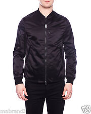 ACNE STUDIOS SELO LIGHT BLACK MA-1 WATERPROOF SHELL BOMBER JACKET $600 ALL SIZES
