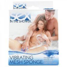 Vibrating Mesh Sponge Bullet Vibrator For Discreet Sex In The Shower