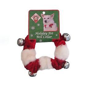 Dog Christmas Bell Collar Holiday Apparel Clothing Jingle Pet Outward Hound