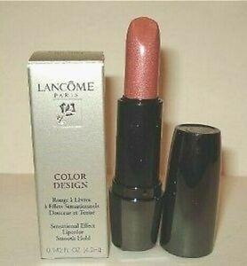 Lancome Color Design Sensational Effects Lipcolor Lipstick~ 321 Vintage Rose NIB