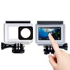 Waterproof Touch Screen Protective Housing Case Cover For Xiaomi Yi 2/4K Camera#