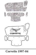 1997 2004 Chevrolet Corvette Under Hood Cover with G-116 Corvette 50th Logo