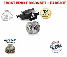 FOR ISUZU BIGHORN IMPORT 3.0TD 3.1DT 3.5 1991> FRONT BRAKE DISCS + DISC PADS SET