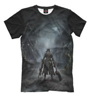 Bloodborne T-shirt -  action role-playing game PlayStation game tee