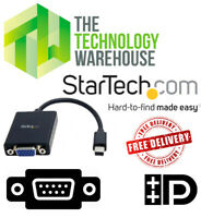 StarTech Mini DisplayPort to VGA Video Adapter Converter - Up to 1080P - MDP2VGA