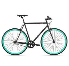 6KU Aluminum Fixed Gear Single-Speed Fixie Urban Track Unisex Bike Bicycle 58cm