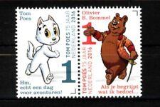 Nederland NVPH 3426-27 Tom Poes en Ollie B. Bommel 75 jaar 2016 Postfris