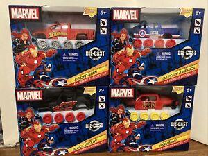 Marvel 4x4 Rebels Model Kits Spider-man Black Widow Capt America Iron Man New