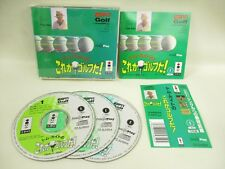 3DO TOM KITE KOREGA GOLF DA Real Panasonic with SPINE * Japan Video Game 3d