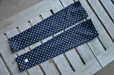 SheBeest Black white polka dot summer sleeves arm warmers road cycling ,size M