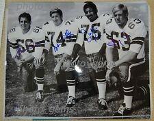 """Dallas Cowboys Doomsday Defense Signed LE 16"""" x 20"""" Photo COA by UDA"""