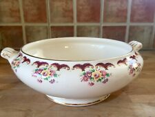 Arklow pottery soup tureen pattern 2415 - no lid, but still classic piece