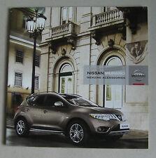 NISSAN Murano 2008 accessori auto gamma brochure. Styling PIASTRE leghe etc etc
