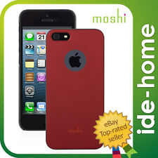 Moshi iGlaze hardshell case for iPhone SE / 5S - Red