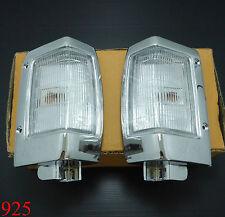 2 X CORNER SIDE LIGHT LAMP FOR NISSAN NAVARA D21 LH - RH Free post
