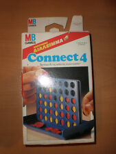VINTAGE 1991 CONNECT 4 GREEK TRAVEL SIZE BOARD GAME EL GRECO MINT MILTON BRADLEY