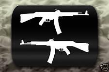 MP-44 Machine Gun decal 2 Stickers German WW2