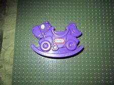 "Little Tikes Purple Rocking Horse Burger King Kids Meal Toy Miniature 2.5"""
