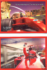 Formula One Grand Prix Uniquely Singapore Postcard 2008