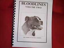 Bloodlines Two by Jack Kelly (Sdj)American Pit Bull Book
