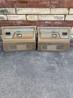 1988-1993 Dodge Ram D150 D250 D350 Ramcharger Truck Door Panel Red Left And RH
