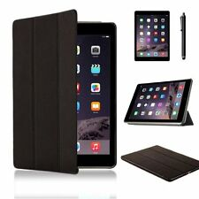Case for iPad Air 2 Case by W-inds Smart Synthetic Leather Magnetic Cover BLK