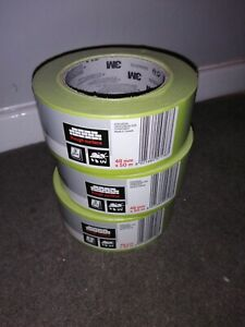 3M Scotch Masking Tape (3 rolls) - High Tack - 48mm x 50mm - UV Stable
