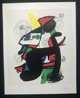 Joan Mirò - L'amara melodia, litografia, 30x38 cm, 1980