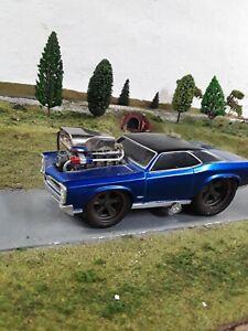 Muscle Machines 1966 Pontiac GTO 1:24 Diecast