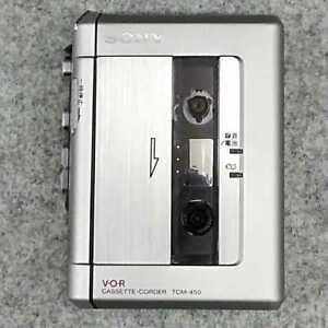 SONY  TCM-450 cassette Walkman From Japan