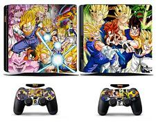 Dragon Ball 272 Vinly Skin Sticker Cover for Sony PS4 Slim PlayStation 4 SLIM