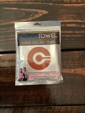 Cool Towel-Super Cooling Towel sweat absorbent dries quickly Pilates, gym NEW