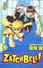 ZATCHBELL !  tome 2 Raiku Manga shonen en français