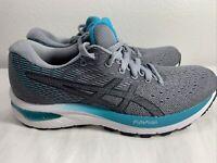 ASICS 1012A741 400 Gel Cumulus 22 Grey Floss White Women's Running Shoes SZ 6