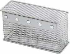 Ybmhome Wire Mesh Magnetic Storage Basket, Container, Desk Tray, Medium 2306