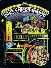 THAT'S ENTERTAINMENT 1974 Gene Kelly, Judy Garland, Fred Astaire UK BROCHURE