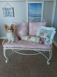 "16 ""Tonner  Furniture Shabby Chic Loveseat.."