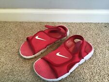 386520-600 Nike 1y kids size 1  Sunray Adjust 4 GS/PS Spark/White-Voltage Cherry