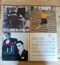 "STYLE COUNCIL ALBUM AND 12"" SINGLES COLLECTION WELLER THE JAM"