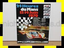 PORSCHE Design Magnetwand Rennplakat 24 heures du Mans 1970 NEU LIMITED EDITION
