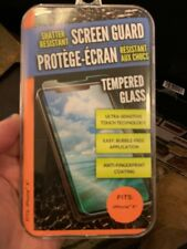 Shatter Resistant Screen Guard iPhone X ONLY - Tempered Glass **New**