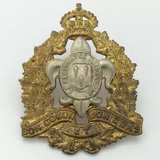 WWII World War 2 Canada Cap Badge Regiment Maisoneuve Bon Coeur Bras Pin G082