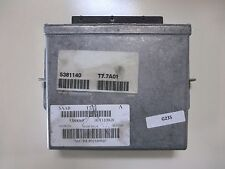 5381140 | 99-02 SAAB 9-3 / 93 ENGINE CONTROL MODULE UNIT PCM ECM ECU