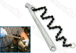 """Heavy Duty Double-Action Chain Wrench 12"""" 50-125mm (CPW300)"""