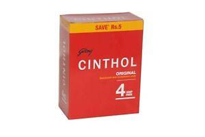 Godrej Cinthol Original Soap 100gm X 4 Pcs